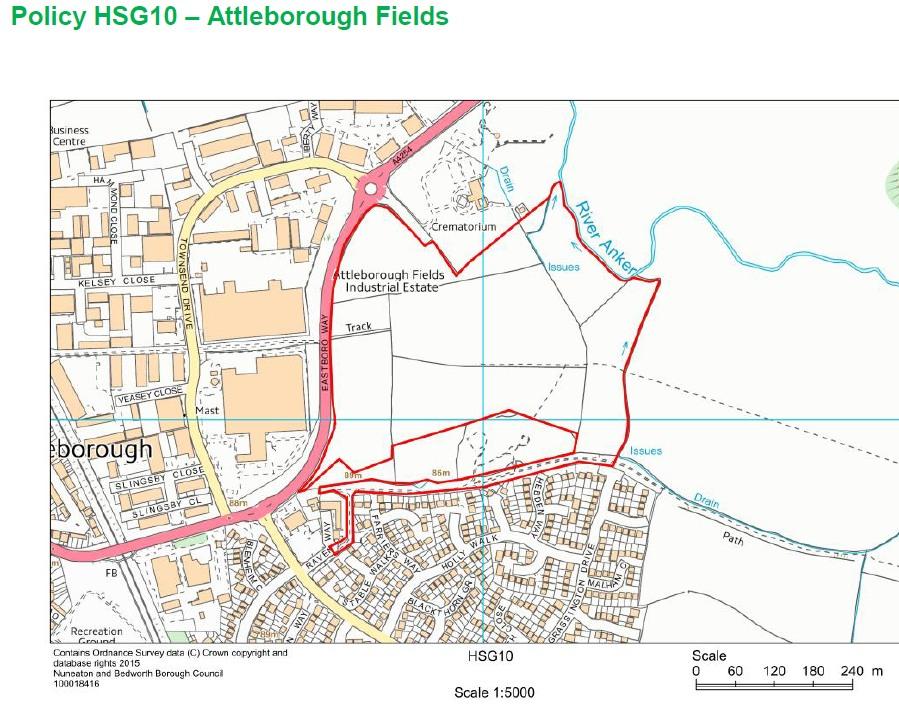 HSG10 Attleborough Fields