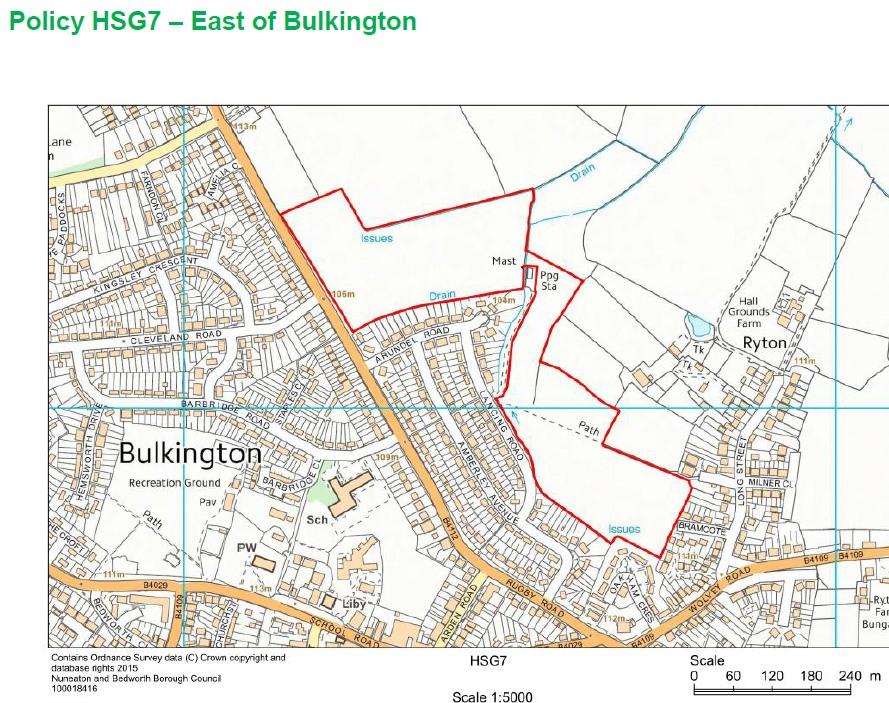 HSG7 East of Bulkington