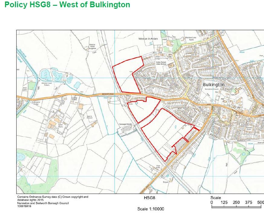 HSG8 West of Bulkington